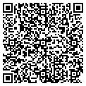 QR code with B & B Package & Bar contacts