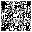 QR code with M & M Credit contacts