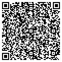 QR code with D & C Beauty Supply contacts