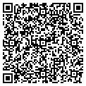 QR code with K & R Bluewater contacts
