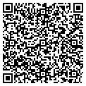 QR code with B & S Garage Door contacts