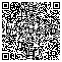 QR code with G & B Lawn Service contacts