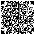 QR code with B & D Recycling Inc contacts