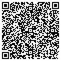 QR code with F & H Contractors contacts