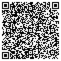 QR code with F & R Screening contacts