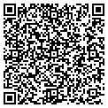 QR code with B&M Carpet Inc contacts