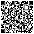 QR code with D & D Fashions contacts