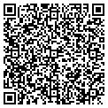 QR code with S & J Beauty Salon contacts