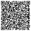 QR code with D & H Insurance Assoc Inc contacts