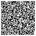 QR code with M & J Foods Stores contacts