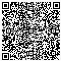 QR code with B & J Auto Machine Shop contacts