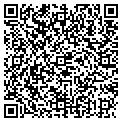 QR code with H F K Corporation contacts