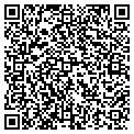 QR code with M & M Monogramming contacts