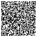 QR code with M & D Marine Services contacts