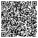 QR code with P&M Real Estate Corp contacts