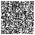 QR code with AJF Properties contacts