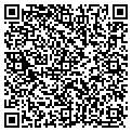 QR code with B & C Cleaning contacts