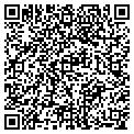 QR code with B & D Army Navy contacts