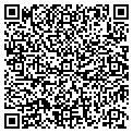 QR code with J & J Kennels contacts