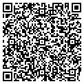 QR code with D & B Installers contacts