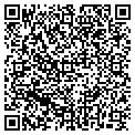 QR code with P & B Furniture contacts