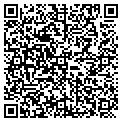 QR code with B & M Marketing Inc contacts