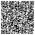 QR code with M & J's Lawn Care contacts