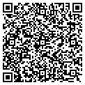QR code with J & M Builders contacts