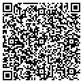 QR code with J & E Custom Cabinets contacts