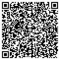 QR code with P & V Developers LLC contacts