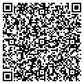 QR code with R & R Janitorial Service contacts
