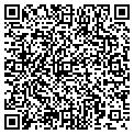 QR code with B & B Carpet contacts