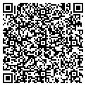QR code with CP & P Inc contacts