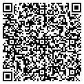 QR code with D & E Party Rentals contacts