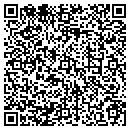 QR code with H D Quikprint & Disc Off Sups contacts