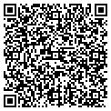 QR code with B & K Auto Insurance contacts