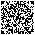 QR code with D & A Store Fixtures Inc contacts