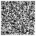 QR code with B & A Designs contacts