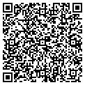 QR code with D & H Auto Sales contacts