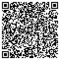 QR code with D & L Wholesale contacts