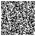 QR code with D & W Transportation contacts