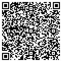 QR code with B & J Handyman Inc contacts