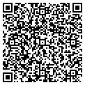 QR code with B & J Woodwork Inc contacts