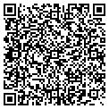 QR code with B & S Auto Sales contacts