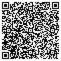QR code with R & J's Comics Sports Cars contacts