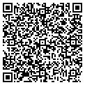 QR code with D & J Truck Sales contacts