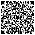 QR code with R & J Mini Storage contacts