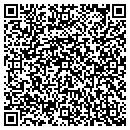 QR code with H Warren Whitis DDS contacts