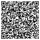 QR code with B & G Machine Inc contacts
