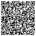 QR code with P & J Auto Sales contacts